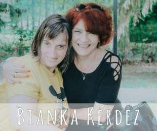 Bianka, Radó Denise színművésznővel beszélgetett